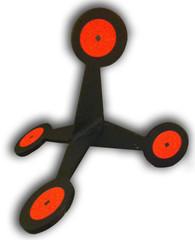 A metal target